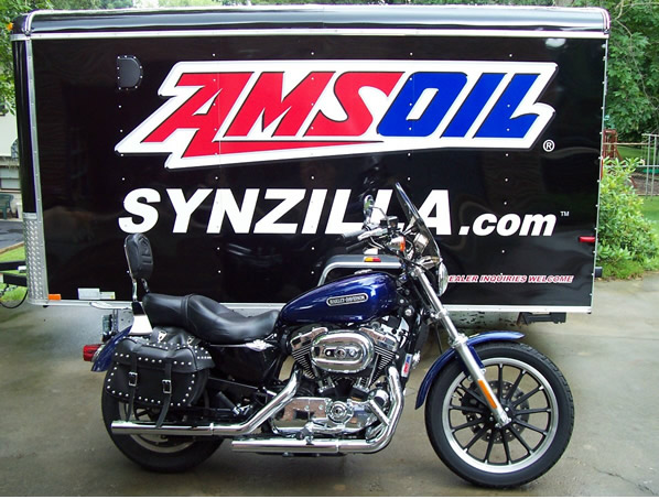 MY AMSOIL Harley Davidson With Over 50,000 AMSOIL Miles